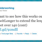 How to Tweet longer than 140 Characters