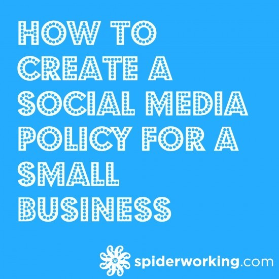 Have A Small Business 3 Places To Get A Loan: How To Create A Social Media Policy For Small Business