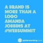 A Brand Is More Than A Logo – Amanda Jobbins At #WebSummit