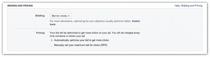 Facebook Advertising - How Should You Pay For Your Facebook Ad? oCPM, CPM or CPC