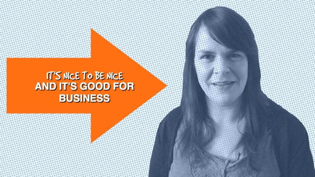 Is being nice online the key to business success?