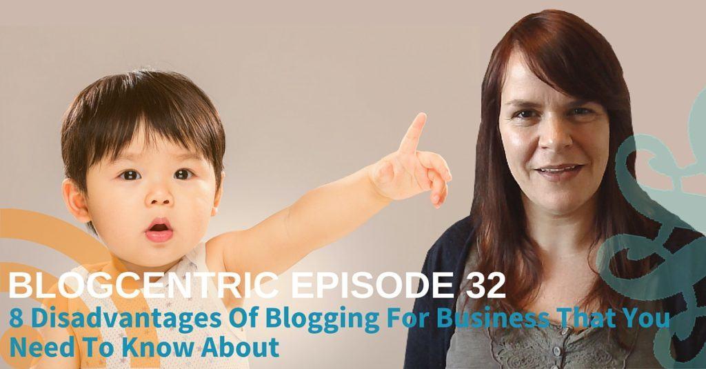 disadvantages of blogging for business
