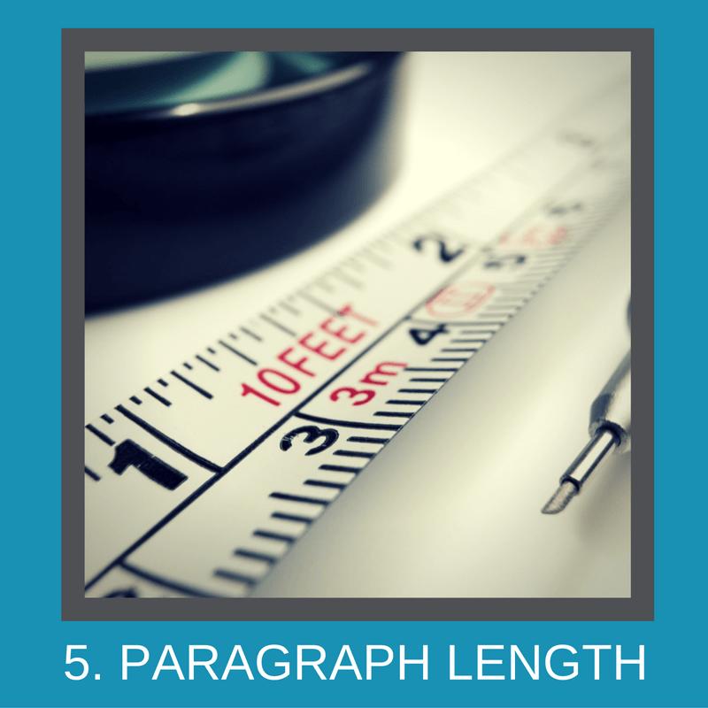 Paragraph length