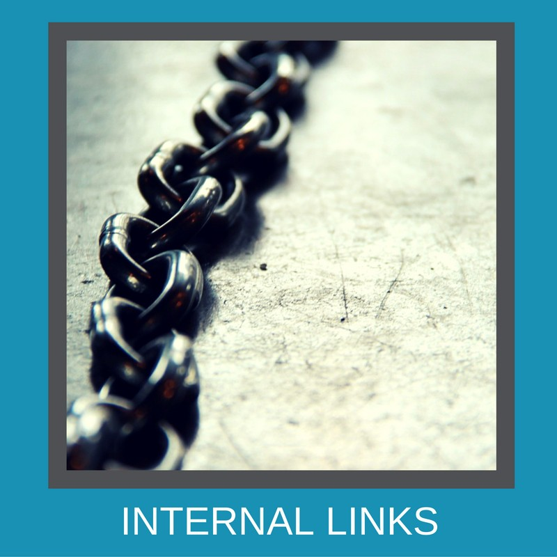 Have you included an internal link?