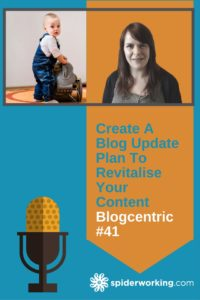 Are you updating the old content on your site?