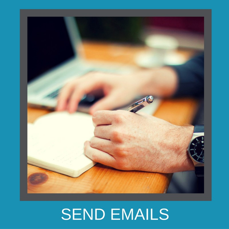 What to put in the email