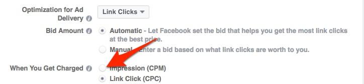 choose CPM