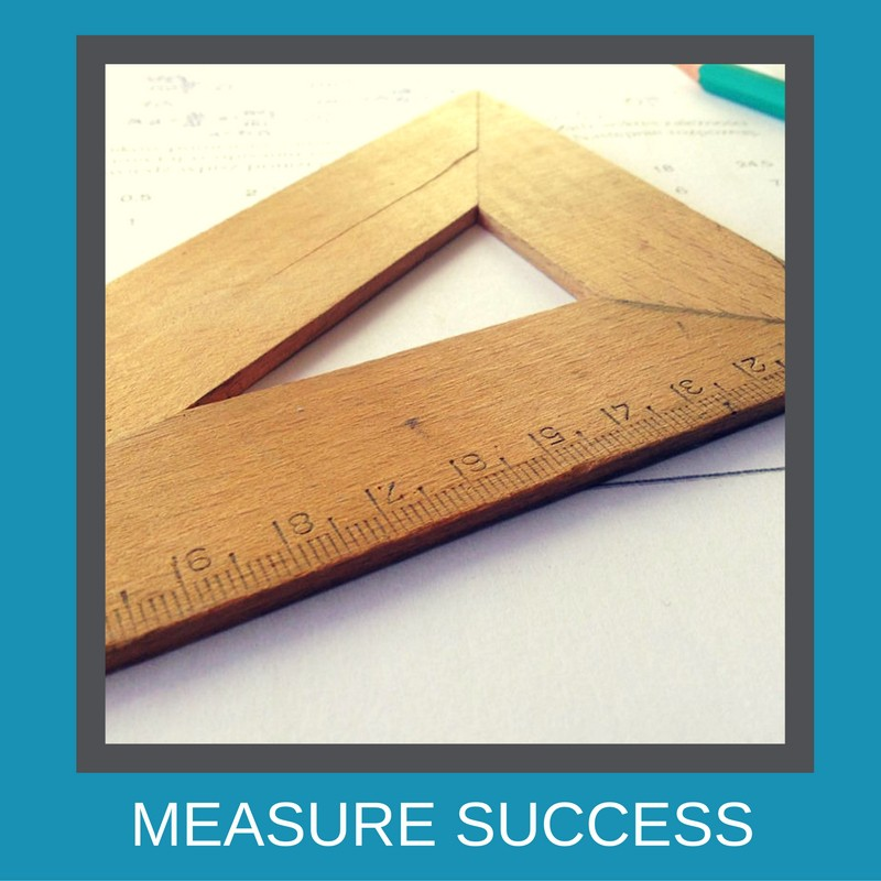 Measure the results