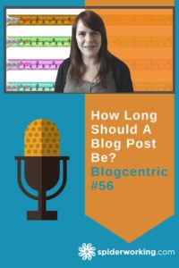 How long should a blog post be