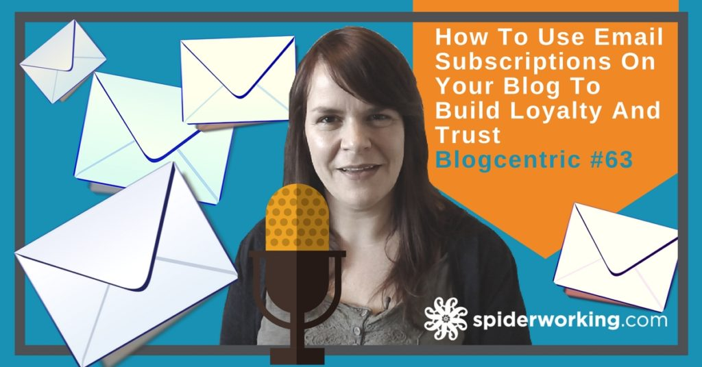 Build more loyal readers with an email list