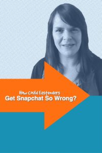 How Could Eastenders Get Snapchat So Wrong?