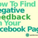 How To Find Out If You Are Getting Negative Feedback On Your Facebook Page Posts