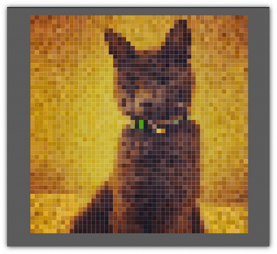 Facebook Contest Idea - Pixelate your images with Heavy Mural - Cool Tool