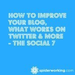 How To Improve Your Blog, What Works On Twitter & More – The Social 7