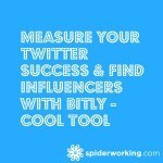 Measure your Twitter Success & Find Influencers With Bitly – Cool Tool