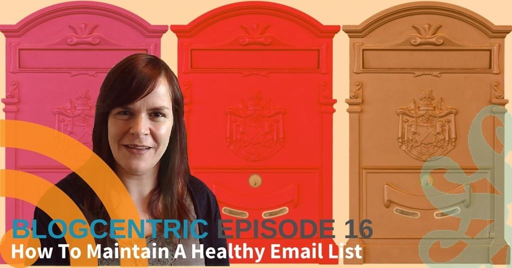 how to maintain your email list