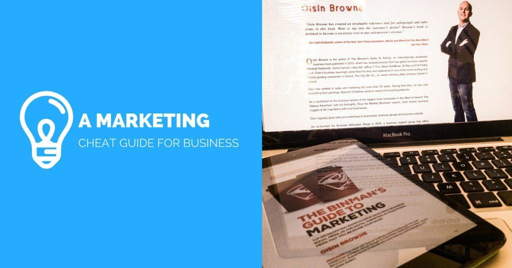 binmans guide to marketing book review