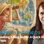 Desperately Seeking A Blog Niche: A Quick Guide To Nailing Your Topic – Blogcentric #29