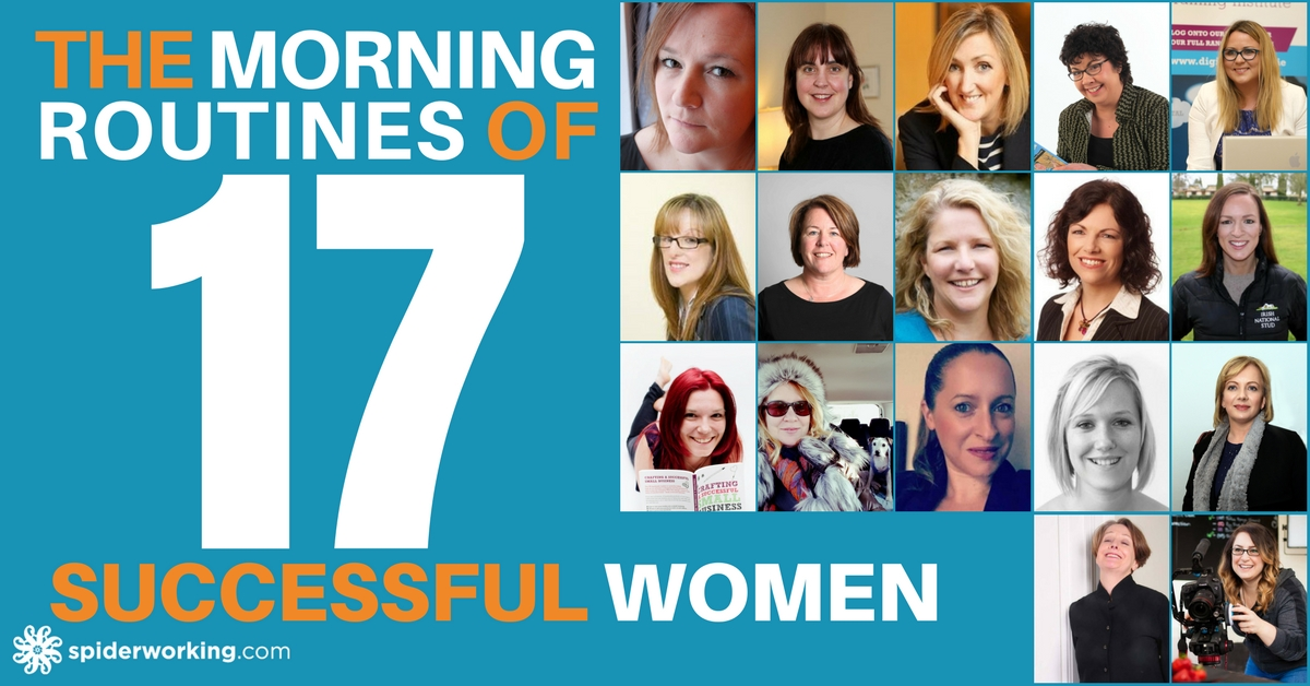 17 successful women share their morning routines