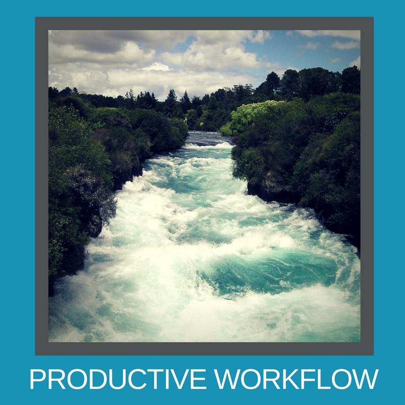 Productive workflow