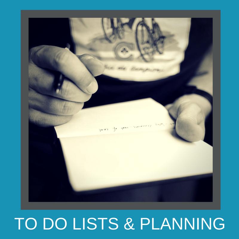 Lists & Planning