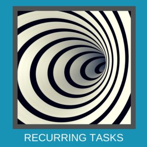 Be more productive - Streamline your recurring tasks