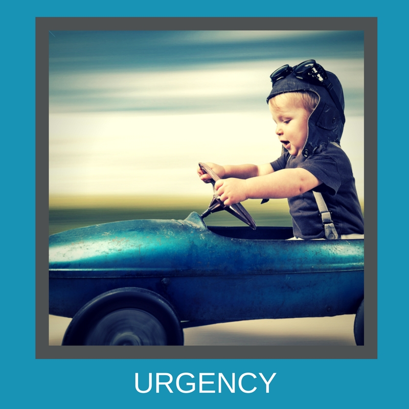 Use urgency in your Facebook ad copy